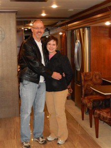 Ralph & Lori together in motorhome