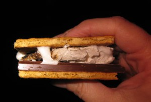 s'mores close up