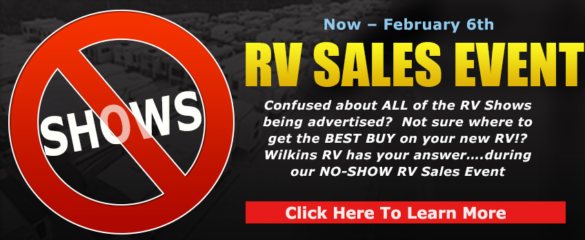 No RV Show Sale