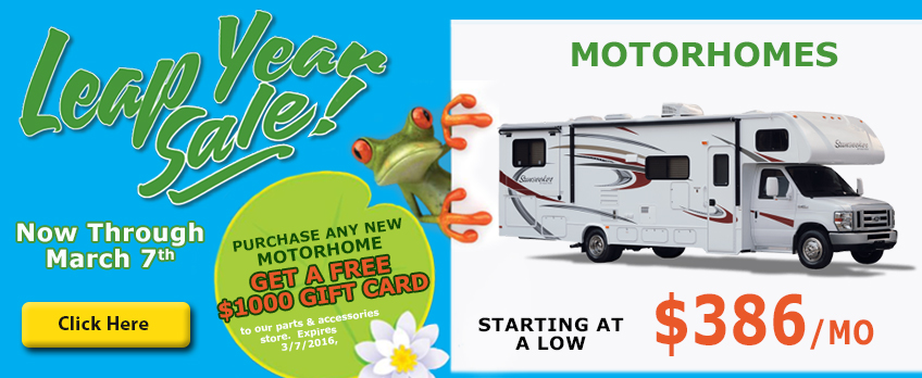 leap year sale motorhomes wilkins