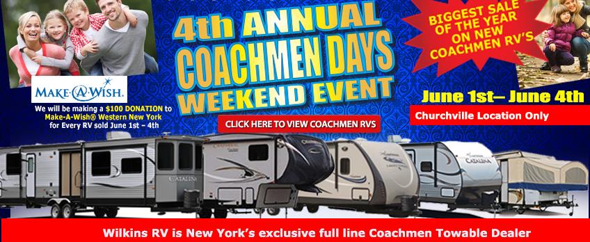 coachmen days wilkins
