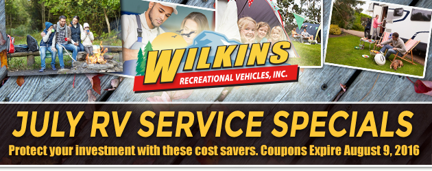 Wilkins RV Service Coupons