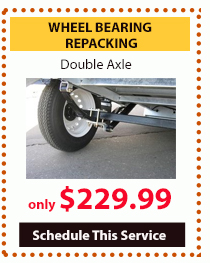 Wilkins Service Special Basic Clean Wheel bearing repacking