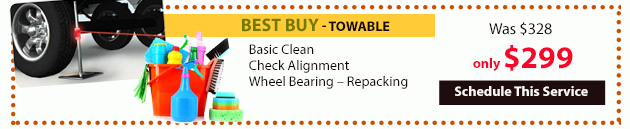 Wilkins Service Special Best Buy Towable