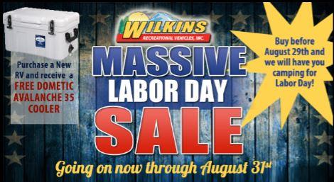 Labor Day Sale Header