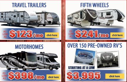 Labor Day Sale RVs