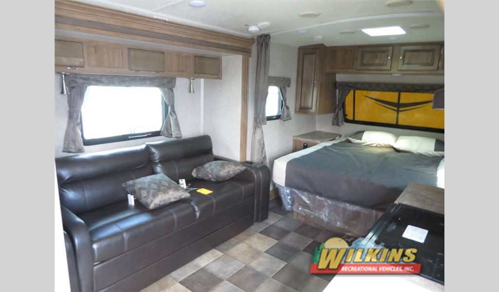 Forest River Flagstaff Micro-Lite Travel Trailer Interior