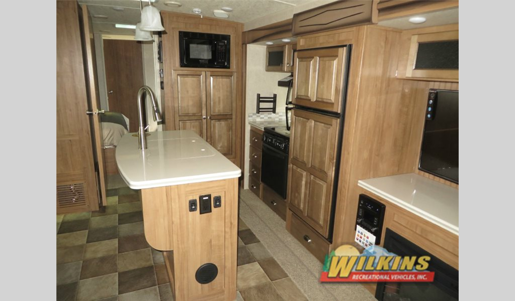 Forest River Flagstaff Travel Trailer Kitchen