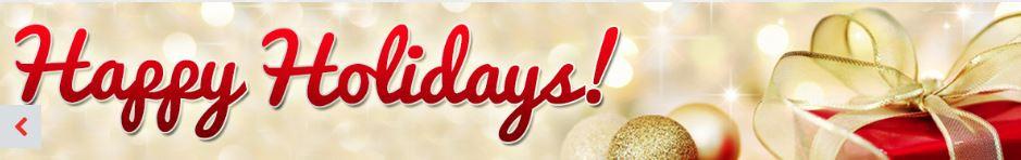 happy holidays Wilkins RV