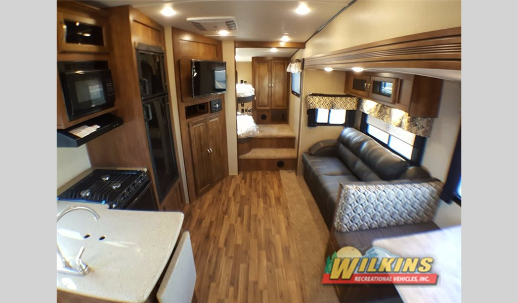 Coachmen Chaparral Lite 295BHS Bunkhouse Fifth Wheel interior