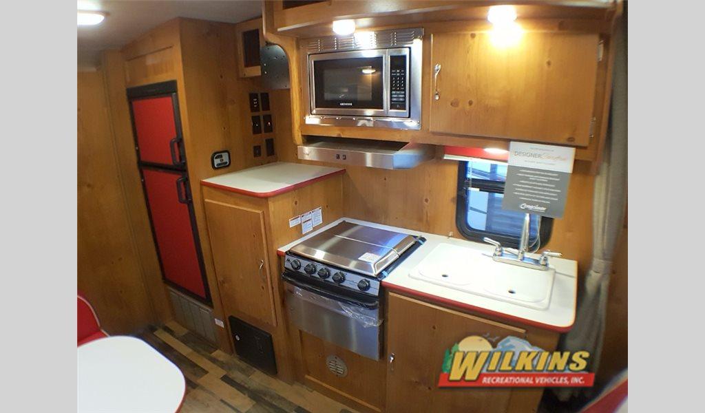 Gulf Stream Vintage Cruiser Travel Trailer Kitchen