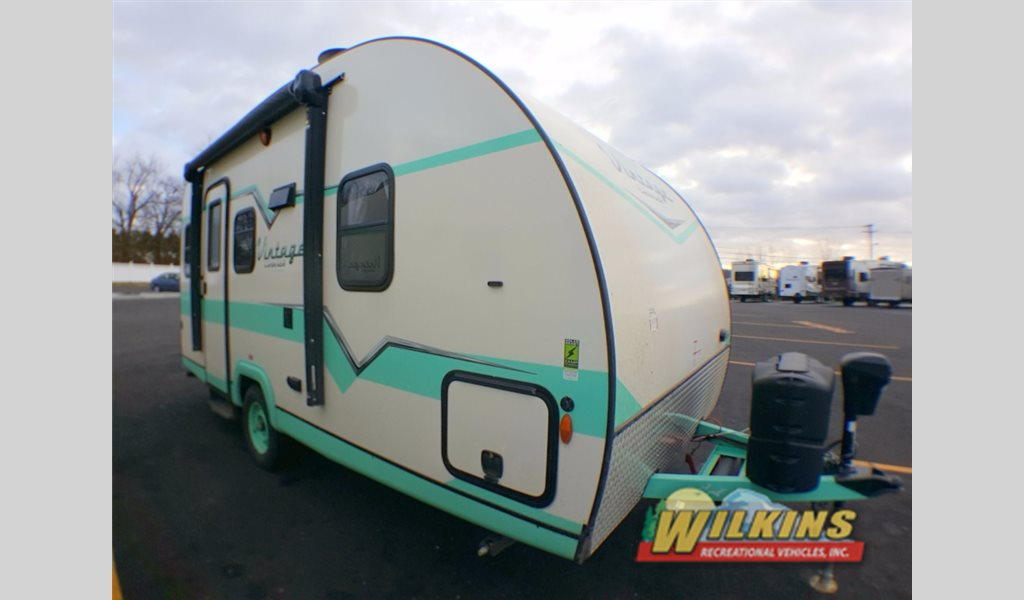 Gulf Stream Vintage Cruiser Travel Trailer Teal