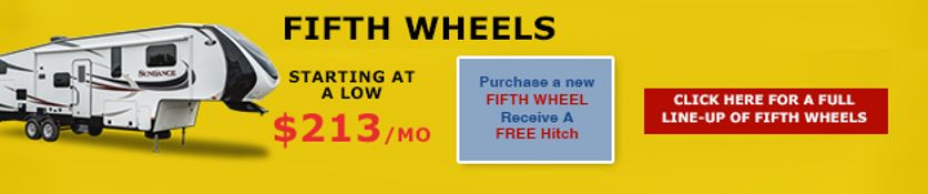 No Show Sale Fifth Wheels