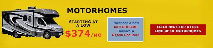 No Show Sale Motorhomes