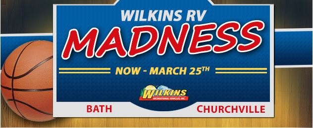 March Madness Sale Wilkins RV Banner