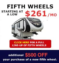 New Victor Location Wilkins RV Fifth Wheels