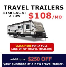 New Victor Location Wilkins RV Travel Trailers