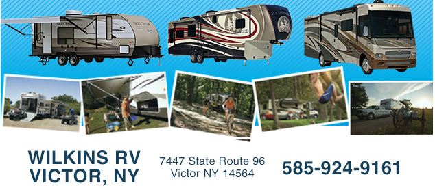 New Victor Location Wilkins RV address