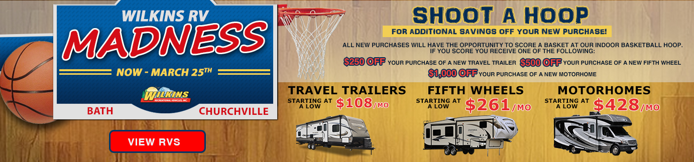 Wilkins March Madness RV Sale