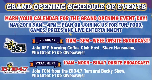 Grand Opening Wilkins RV Special Events