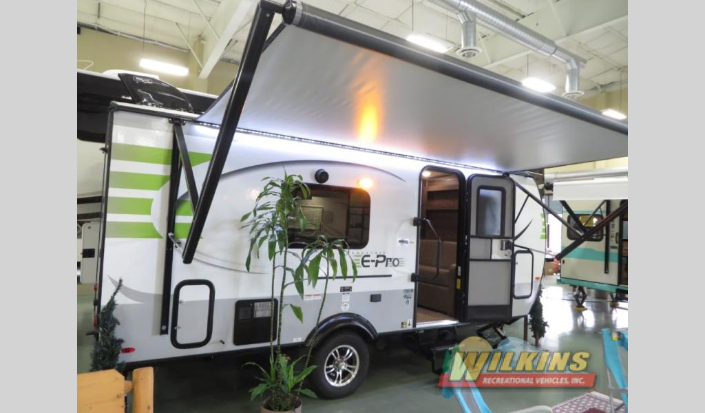 Forest River Flagstaff E-Pro Travel Trailer Rear