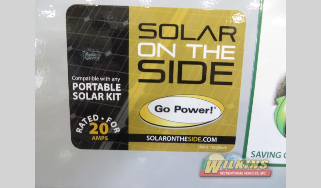 Forest River Flagstaff E-Pro Travel Trailer Solar On The Side