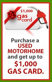 Wilkins Motorhome Mania Event Gas Card