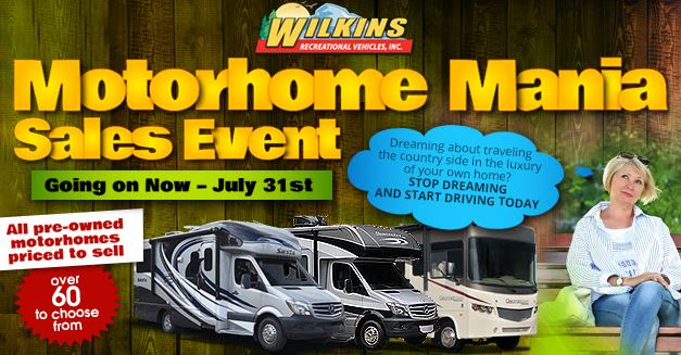 Wilkins Motorhome Mania Event