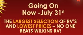 Wilkins Summer Sale Dates