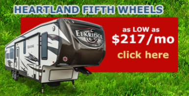 Wilkins RV Heartland Sale Fifth Wheels