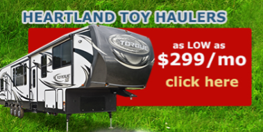 Wilkins RV Heartland Sale Toy Haulers