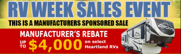 Wilkins RV Heartland Sale