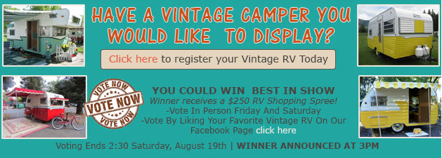 Wilkins RV Vintage Camper Show competition