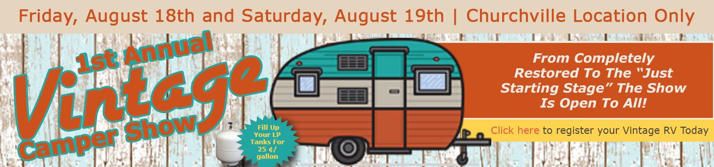 Wilkins RV Vintage Camper Show