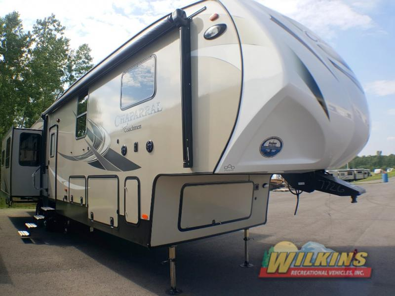 New Coachmen Chaparral Fifth Wheel On Display At Hershey RV - Hershey car show 2018 dates