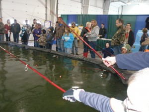 Southern Tier Outdoor Show Wilkins RV Fishing Pond