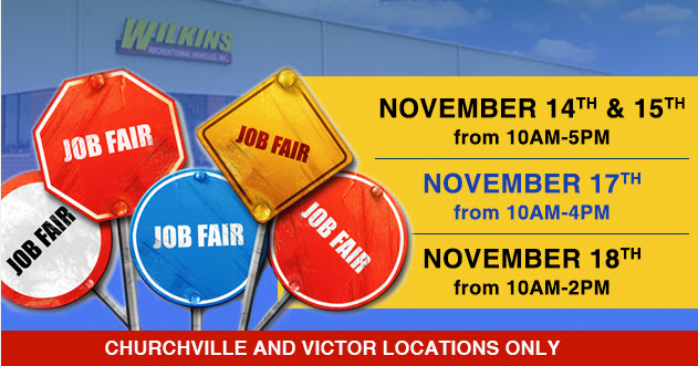 Wilkins RV Job Fair Employment
