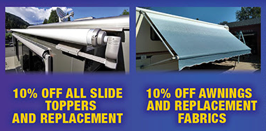 Wilkins RV Parts and Service Sale Awnings