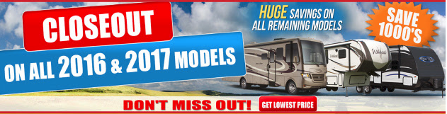 Wilkins RV Fall Sale Closeout