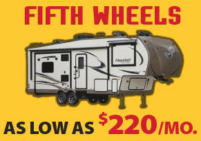 Wilkins RV Fall Sale Fifth Wheels