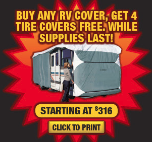 Wilkins RV Fall Sale RV Cover