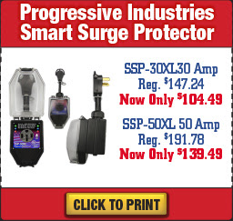 Wilkins RV Fall Sale Surge Protector