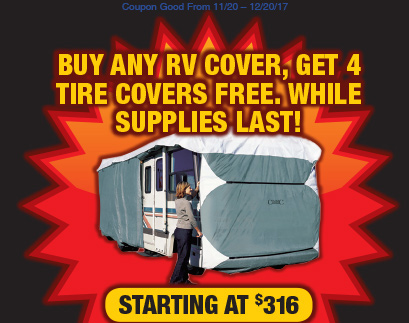 Wilkins RV Christmas Parts RV Cover
