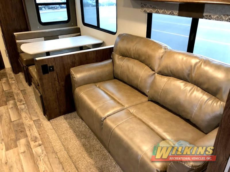 Cruiser Embrace Travel Trailer Seating