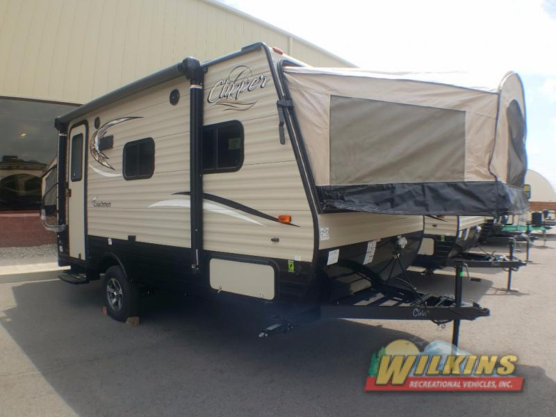 Coachmen Clipper Ultra-Lite Travel Trailers Expandable