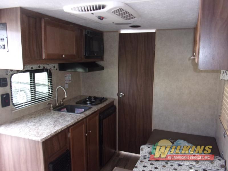 Coachmen Clipper Ultra-Lite Travel Trailers Kitchen