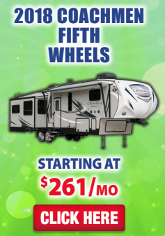 Wilkins RV Sales Event Coachmen Fifth Wheels
