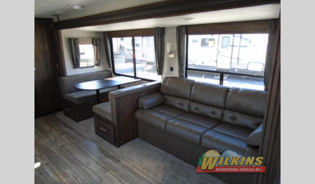 Forest River Cherokee Travel Trailer Seating