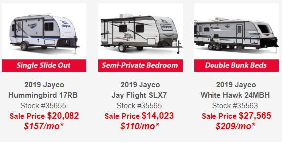 Jayco Sales New York Dealer Wilkins RV Jayco Prices