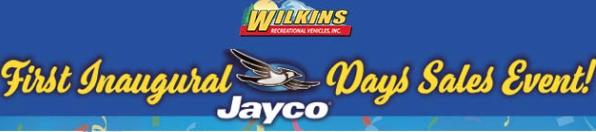 Jayco Sales New York Dealer Wilkins RV